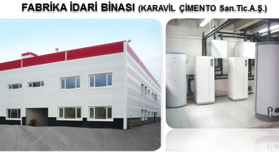 Fabrika idari binası